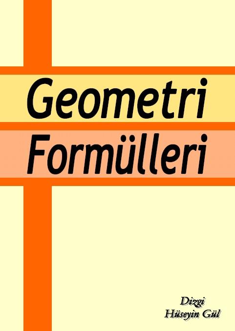 Geometri Fomülleri PDF