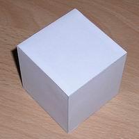 Küp Nasıl Yapılır? Küp Yapımı - Küpün Açılımı Açık Şekli Küp Yapılışı Resimli Anlatım