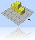 birim küp, geometri tahtası