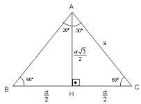 30 60 90 üçgeni