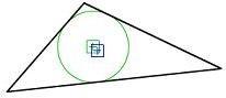 üçgen daire