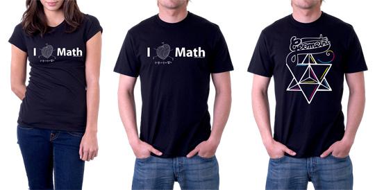 Matematik Tişörtleri