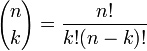 kombinasyon formülü