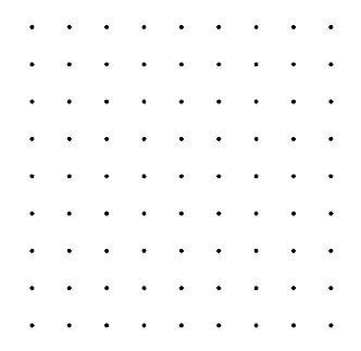 noktalı kağıt kareli