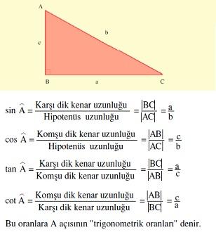 trigonometrik oranlar