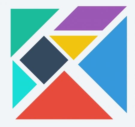 tangram resimleri  şekilleri